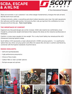 Scott Safety Brochure